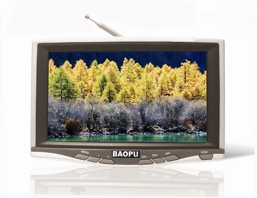 7 Inch Wide Screen TFT LCD TV Monitor