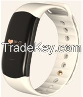 smart bracelet for heart rate dection, blood pressure monitoring, sports recording, calorie consumption recording and sleep detection