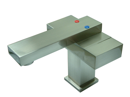 brushed nickel waterfall faucets