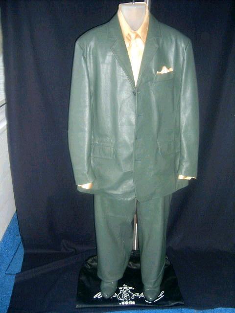 men leather suit
