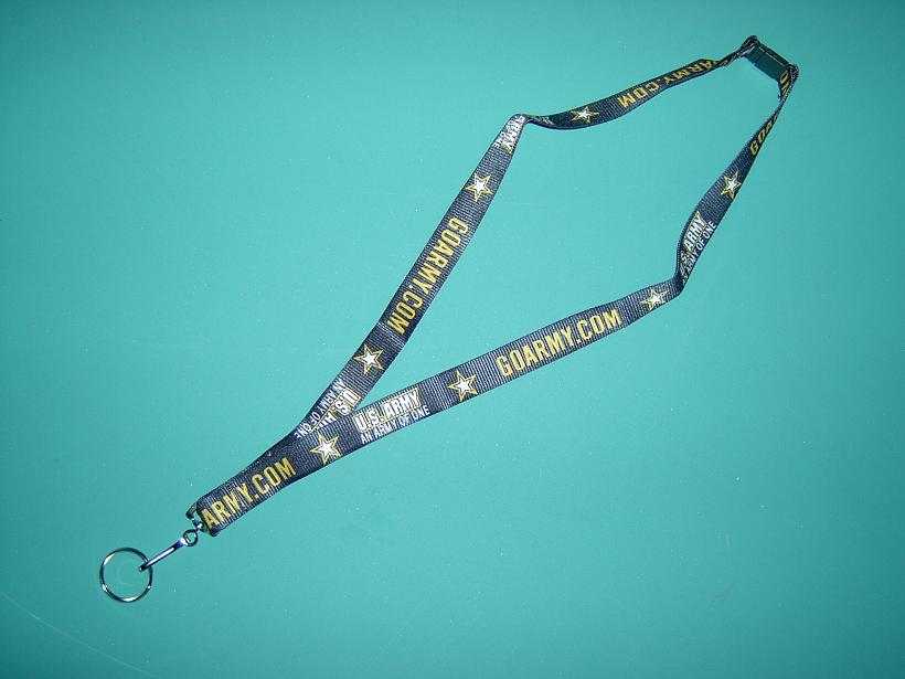 US Army Key Chain Lanyard