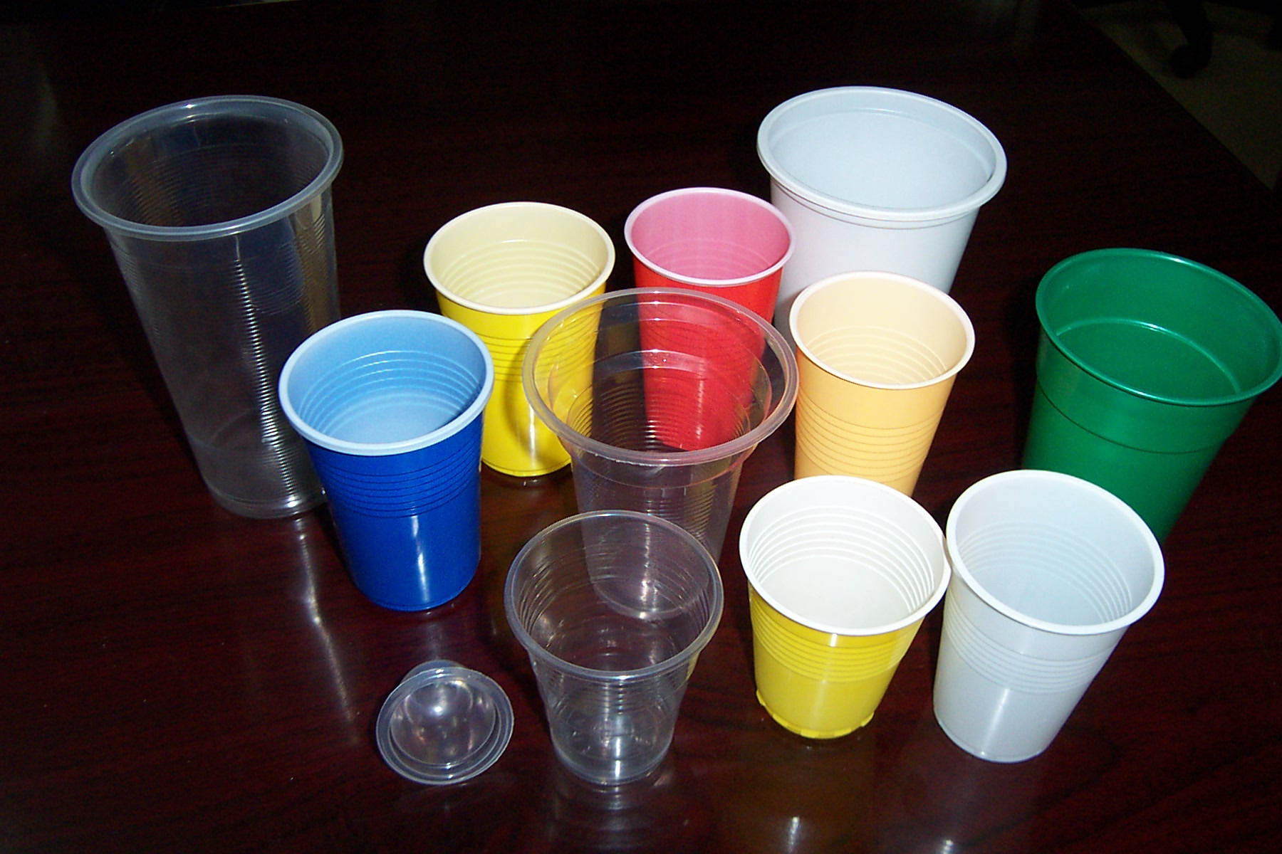 Plastic Paper Disposable Cups/Drinking Straws