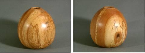 Vases Woodturned