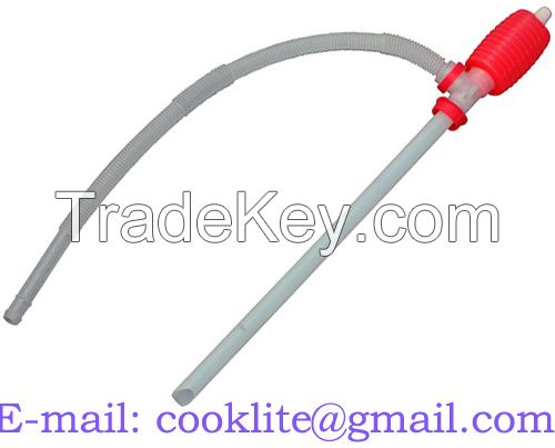 Polyethylene Siphon Pump Manual Syphon Pump