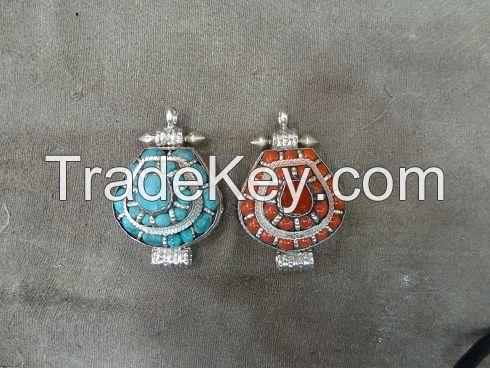 Tibetan  Ghau Pendant