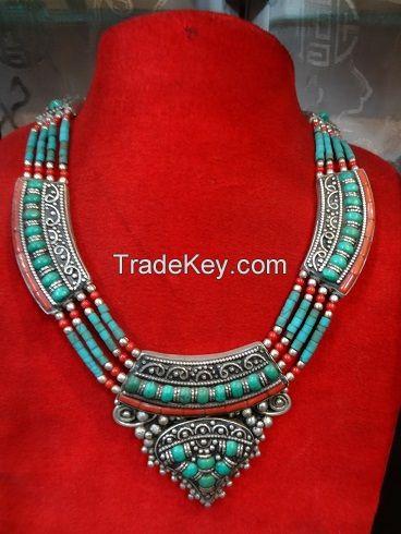 Metal Fashion Necklace