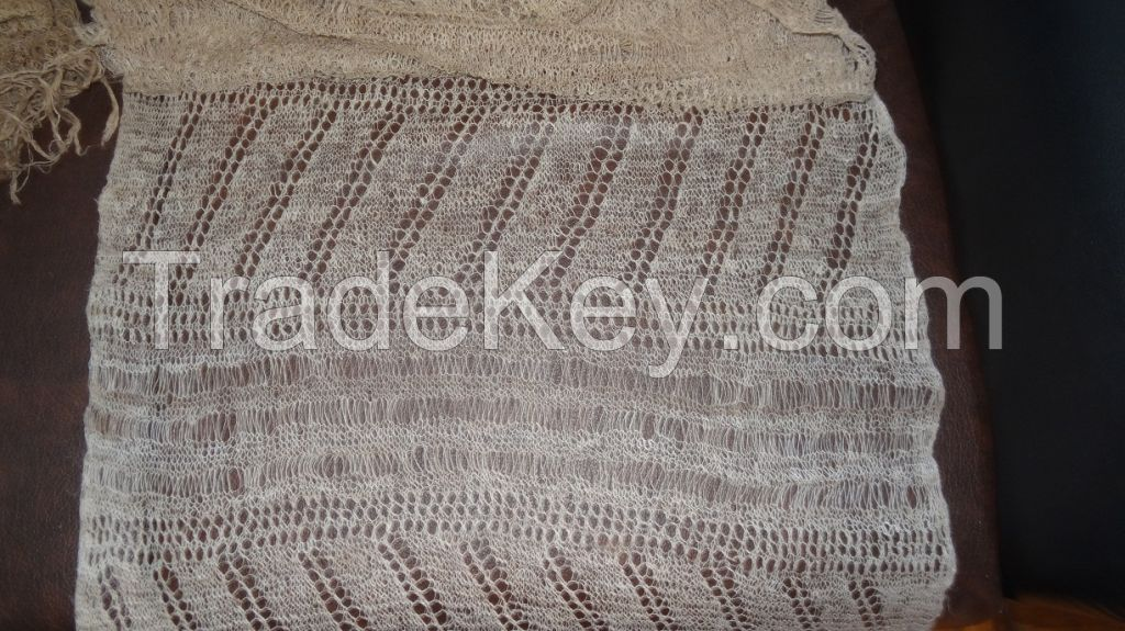 Nettle Knitted Scarf