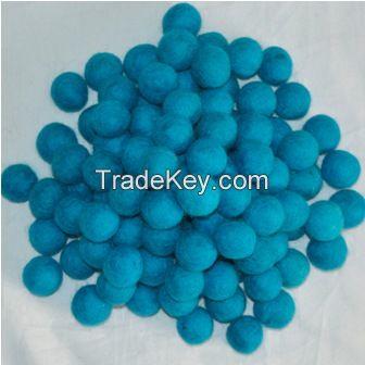 Felt Blue Balls