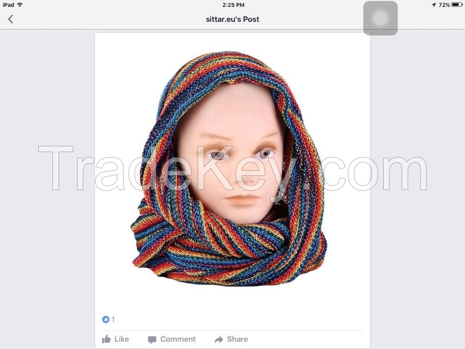 Infinity Neck Scarf- New Arrival