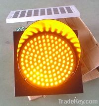 solar amber flasher 100mm, 200mm, 300mm