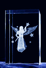 crystal laser engraved products