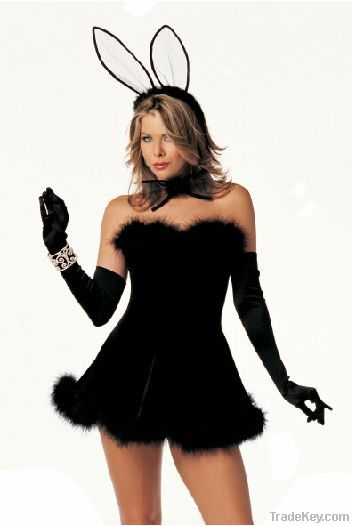 Wholesale sexy cosplay costumes for women, sexy bunny costumes for halloween, sexy halloween costumes
