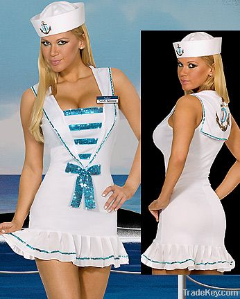 Wholesale sexy sailor costumes, sexy halloween costumes, sexy cosplay party costumes