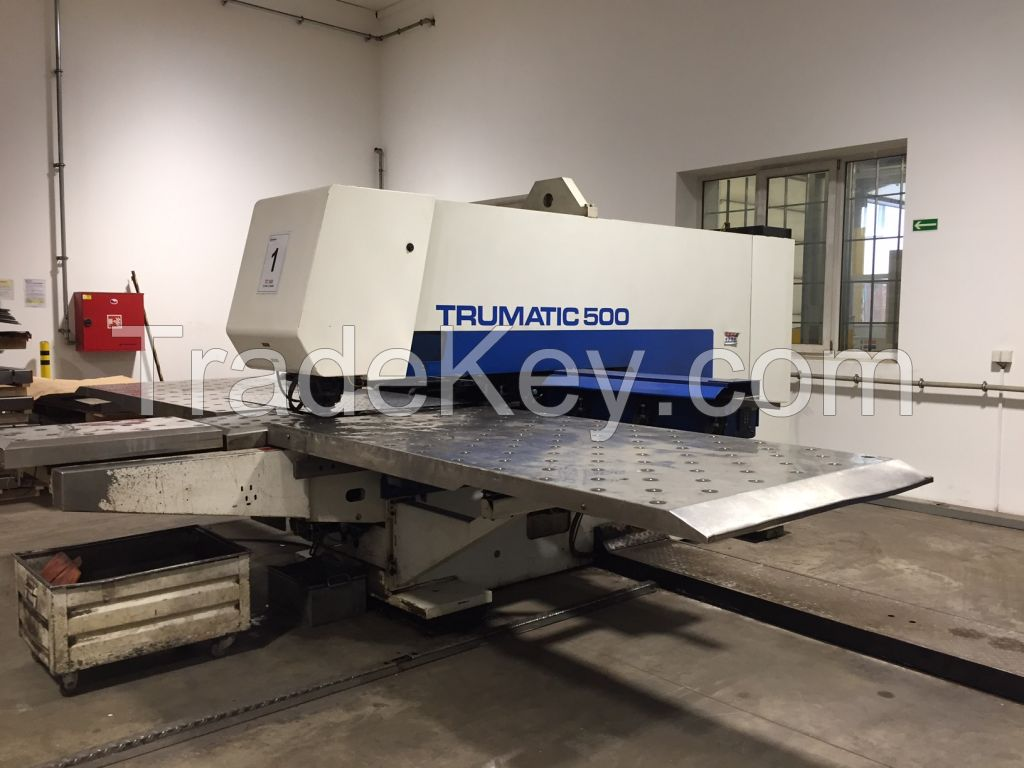 CNC Turret Punch Press TRUMPF TRUMATIC 500