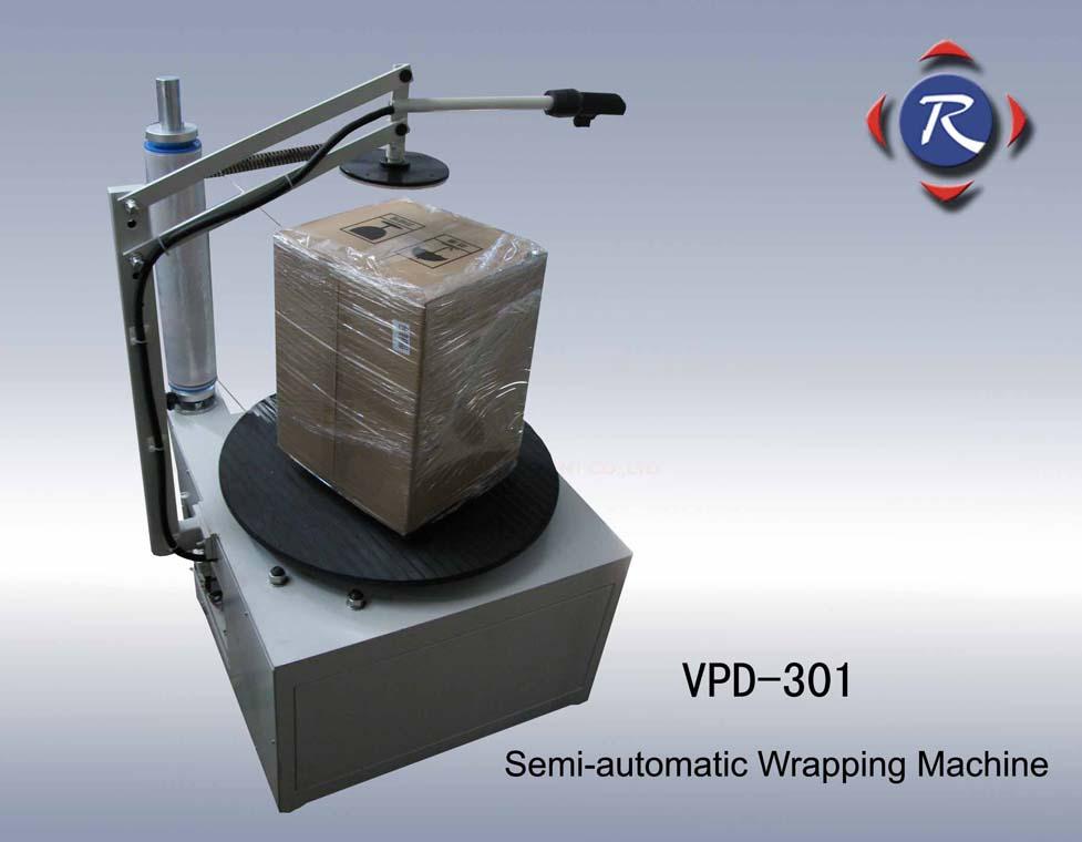 Semi-Automatic Wrapping Machine