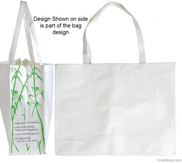 100% organic cotton promotional bag
