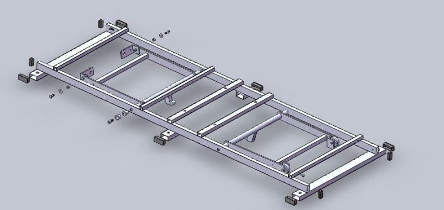 Adjustable Bed Frame (Mechanism)