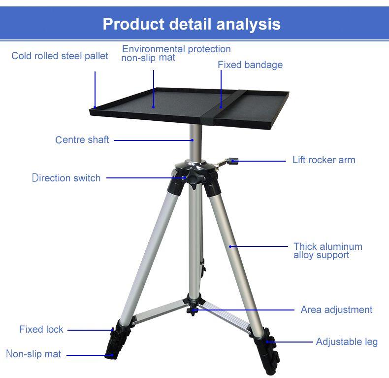 aluminum projector stand