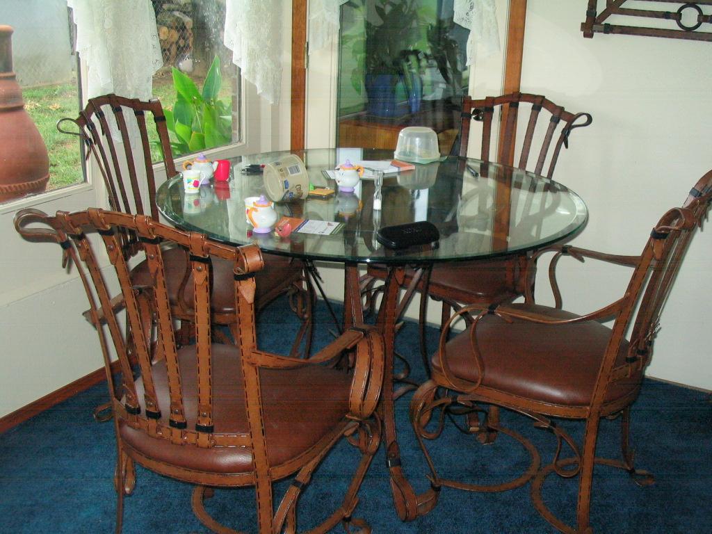 indoor outdoor steel/iron patio furniture