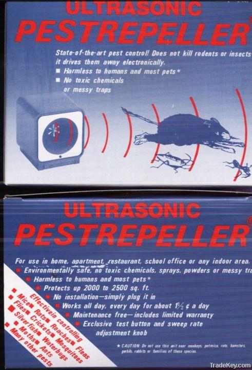 Ultrasonic Pest Repellent  (family use)