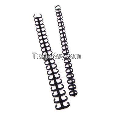 GBC Zip Comb Binding Spines, 1/2 Inch, Black, 25 Spines