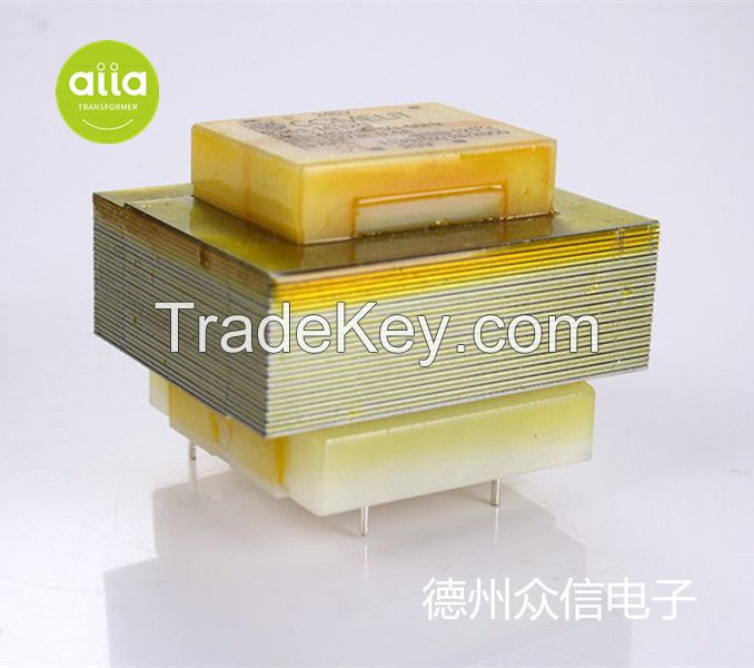 50/60Hz PCB Transformer Open Frame Lamination Transformer EI38-EI54