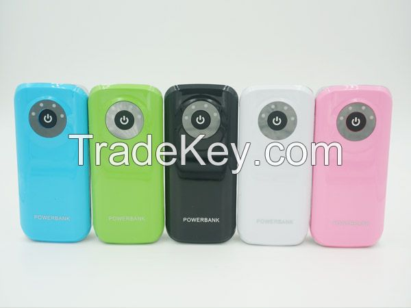5200mAh, 5600mAh Power Bank Multi Color for iPhone, iPad, Samsung Galaxy, Android phone, tablet pc