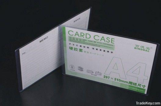 PVC hard soft card holder, badge holder, card case
