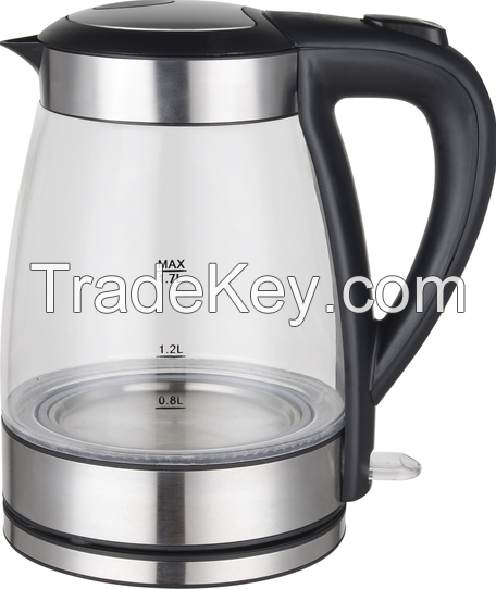 High Quality Glass Kettle, Automatic Shut off, 1.8L