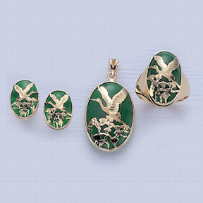 Green Quartz Jewelry