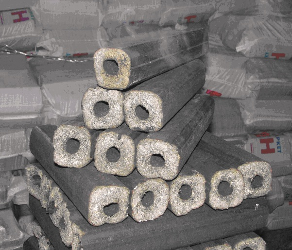 Fuel briquettes (sunflower husk)