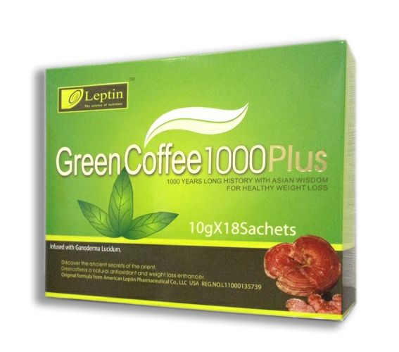 Leptin Green Coffee 1000 PLUS--Exclusive, new product