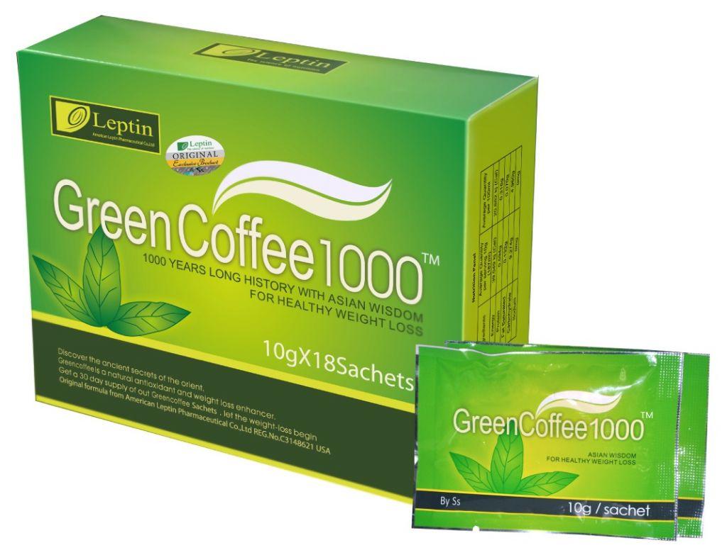 Leptin Green Coffee 1000 (EXCLUSIVE)
