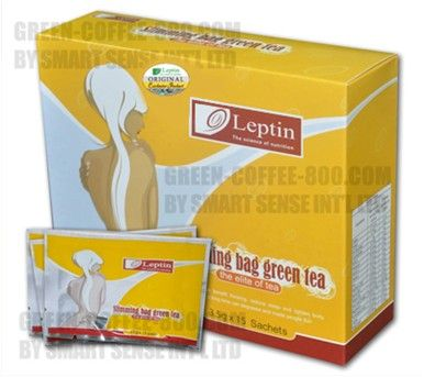 Leptin Slimming Green Tea --Free Shipping, new product, herbal