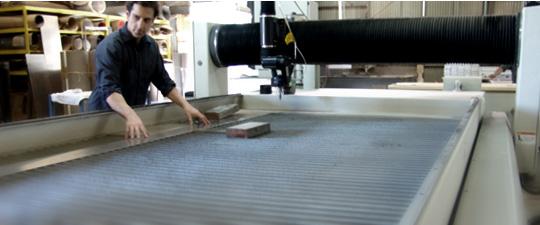 automated cutting machinery