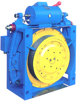 Gearless Traction Machine