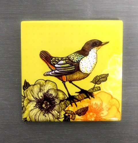 Custom  porcelain Cup Coaster Mat, with cork backing