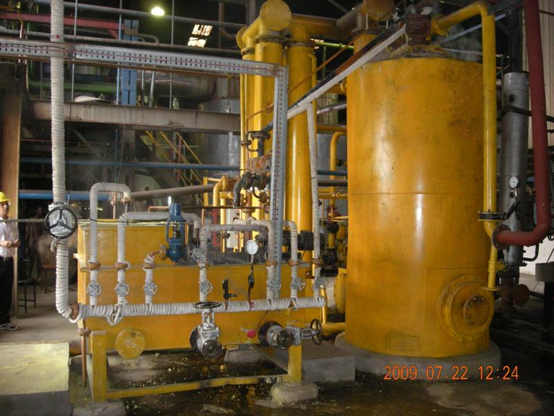 Film type sulphur Burner for sugar industry
