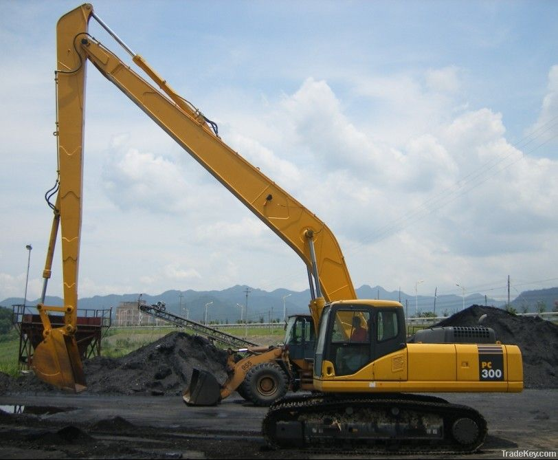 Excavator, Excavator welding parts