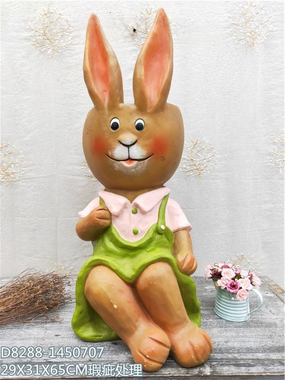 Design OEM customized resin garden animal statues lawn ornaments gifts resin crafts