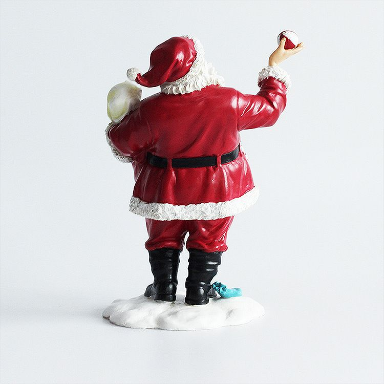 factory custom direct christmas resin santa claus ornaments