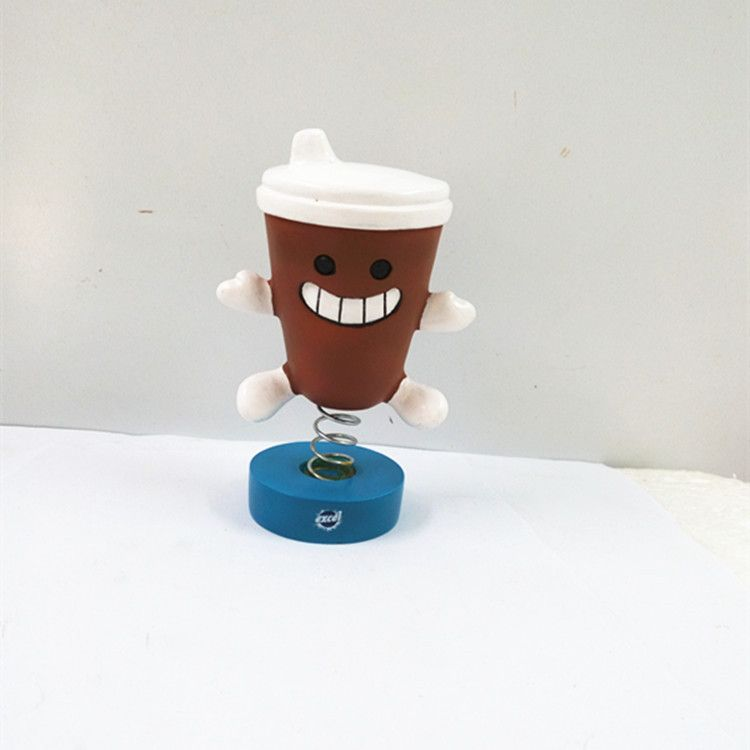 OEM chinese factory custom kinds of resin bobble head statue figurines gifts home ornaments