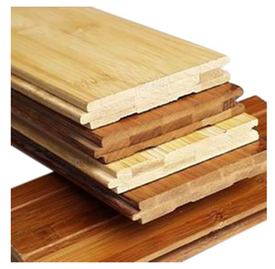 Horizontal Natural Solid Bamboo Flooring with Natural Color