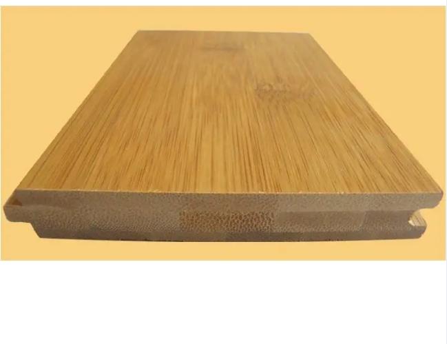 Natural Carbonize Vertical Horizontal Strand Woven Bamboo Flooring