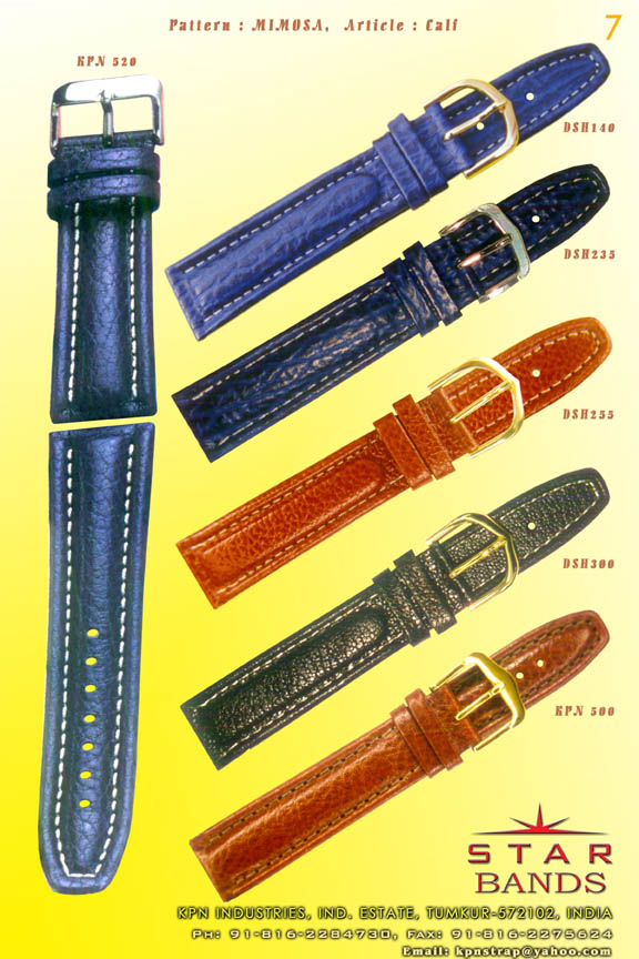 watchstrap, watch strap, bracelet, leather bands