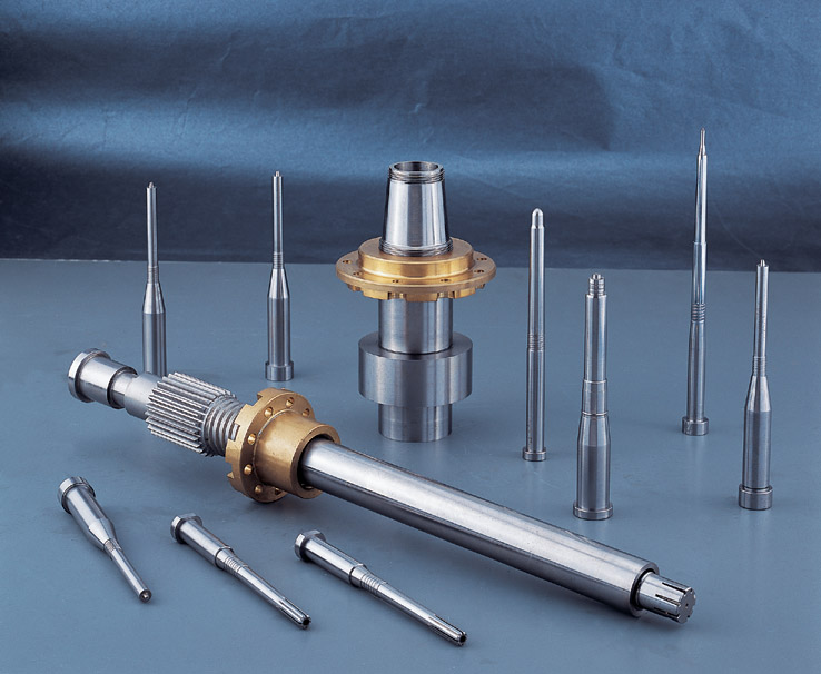 standard and non-standard parts for mould making