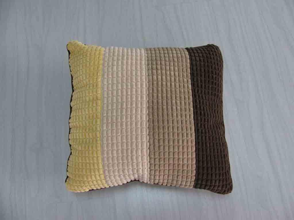 Coral Velvet Cushion