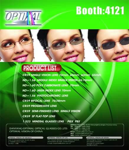 Sell Optical Lenses