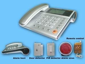 Wireless Telephone Alarm System