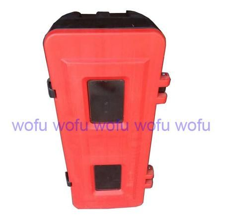 Plastic cabinet for 6-10KG DCP fire extinguisher